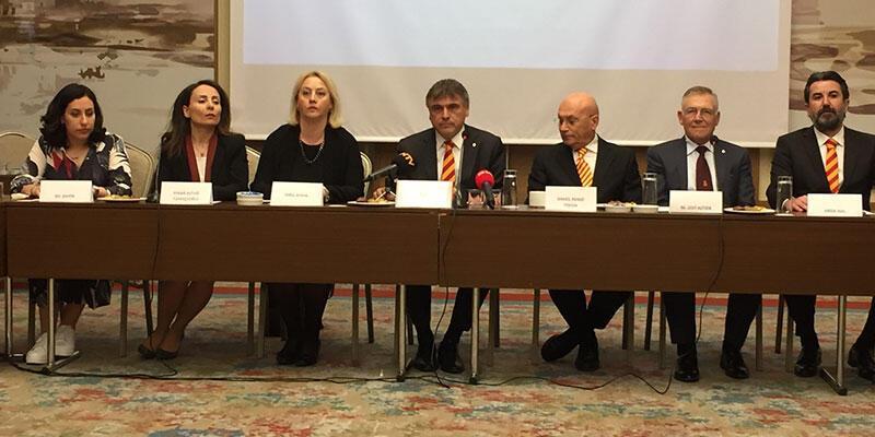 Galatasaray başkan adayı Ali Fatinoğlu, çalışma grubunun yeni üyelerini tanıttı