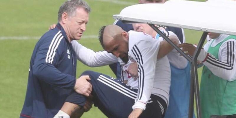 Arturo Vidal sezonu kapattı