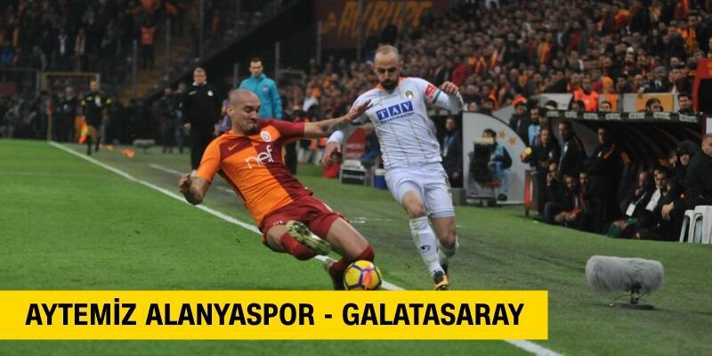 Canlı: Alanyaspor-Galatasaray maçı izle   beIN Sports canlı yayın