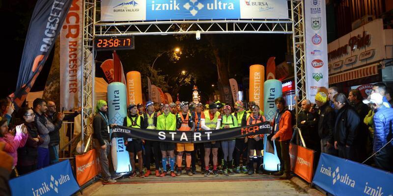 İznik Ultra Maratonu başladı