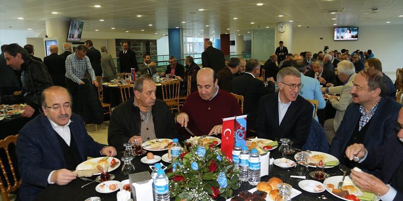 Trabzonspor camiası kahvaltıda buluştu