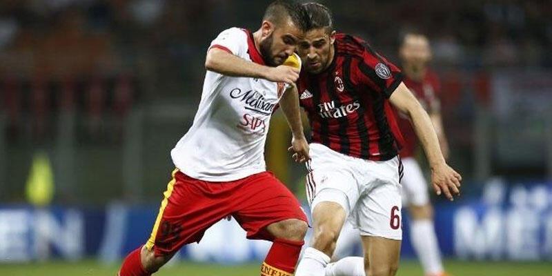 Benevento deplasmanda Milan'ı devirdi