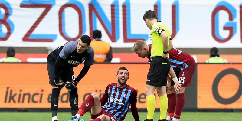 Trabzonspor'da 2 haftada 7 futbolcu sakatlandı