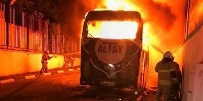 Altay'dan açıklama: Otobüsü bizi korkutmak için yaktılarsa...