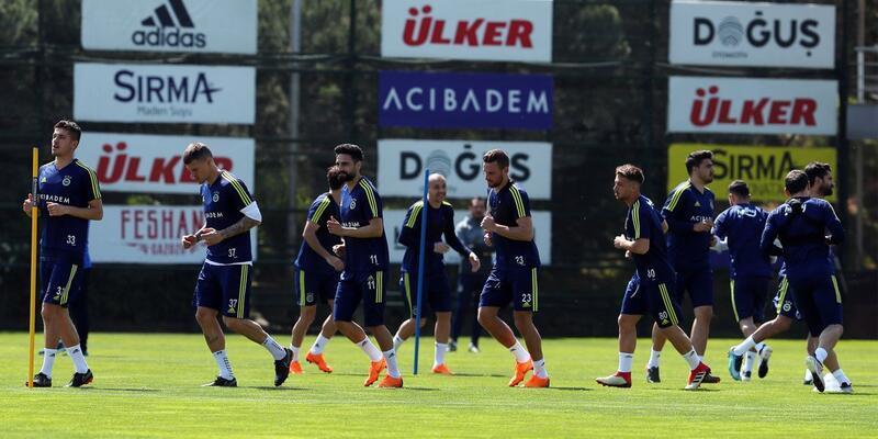 Fenerbahçe basına kapalı çalıştı