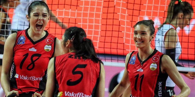 Kadınlar Voleybol Ligi'nde şampiyon VakıfBank