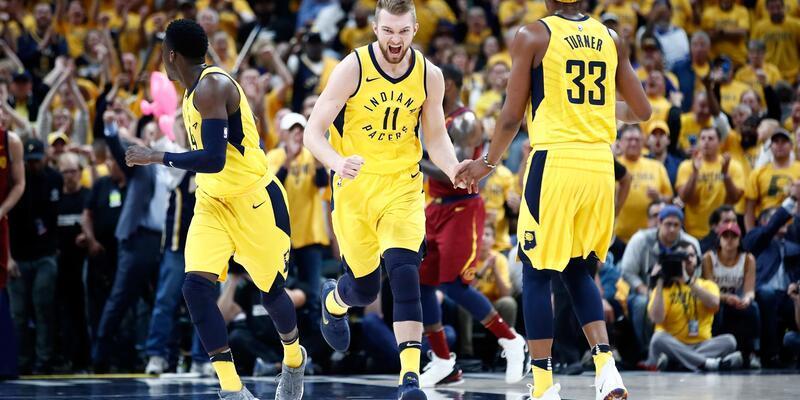 Raptors ile Jazz turladı, Pacers pes etmedi