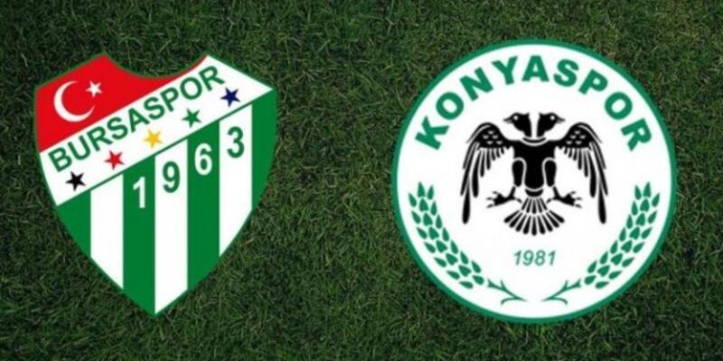 Bursaspor-Konyaspor maçı muhtemel 11'leri