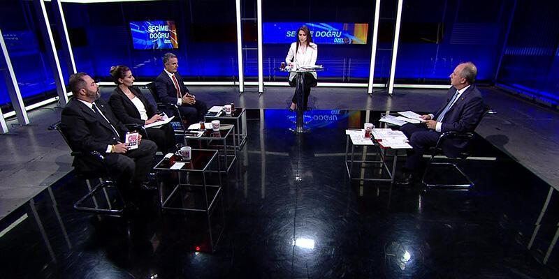 """CNN TÜRK """"Seçime Doğru Özel"""" programıyla reyting rekoru kırdı"""