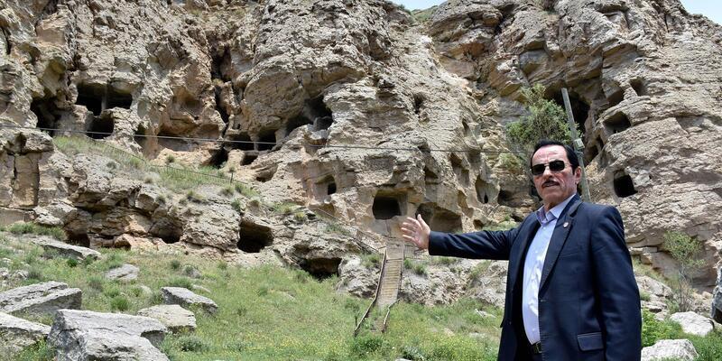 4 bin 600 yıllık 'Kaya Mağaraları' hayranlık uyandırıyor