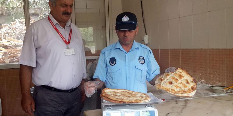 Tarsus'ta ekmek fırınlarına denetim