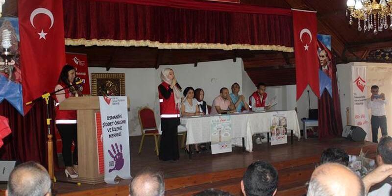 Toprakkale'de 'Güçlü Kadın, Güçlü Aile' projesi tanıtıldı