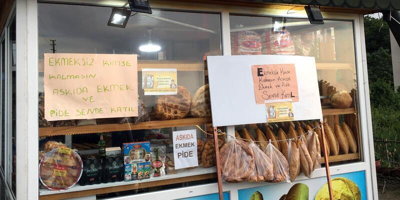 Fatsa'da 'Askıda'da Ekmek' uygulaması