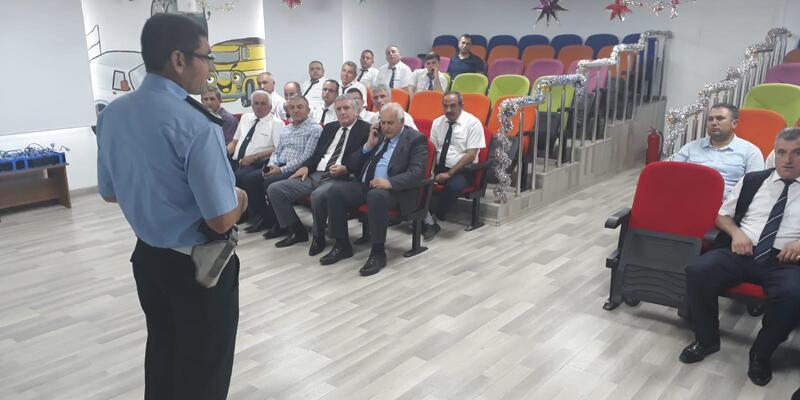 Tokat'ta otobüs şoförlerine eğitim