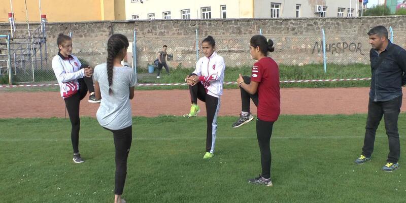 Muşlu atlet kızlar, Türkiye'yi temsil edecek
