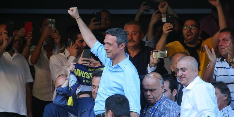 TFF Ali Koç'u tebrik etti