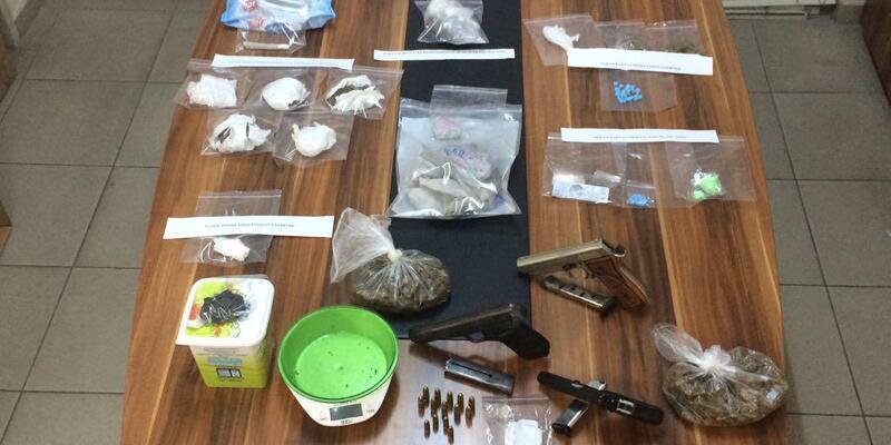 Zonguldak'ta uyuşturucu ticaretine 4 tutuklama