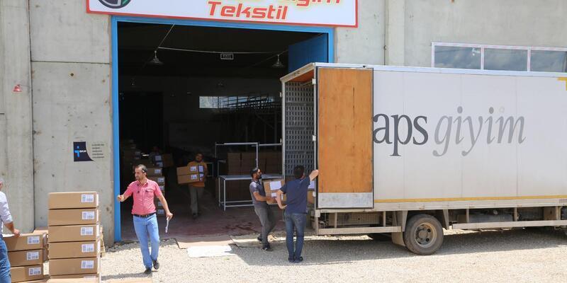 Tunceli'de tekstilde ilk ihracat gerçekleşti