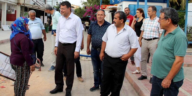 Başkan Turgut: Amacımız kentimize kalıcı hizmetler yapmak
