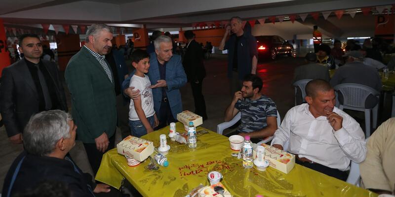 Büyükşehir'den iftar