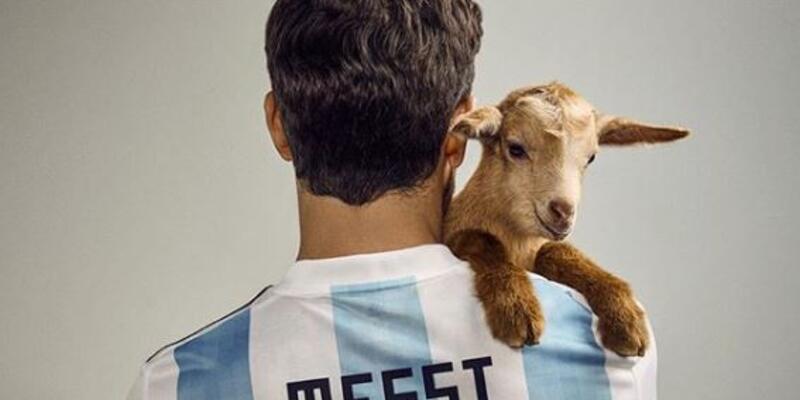 Messi ve keçi kapak oldu!