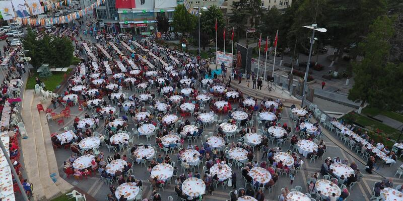 Develi Belediyesinden iftar