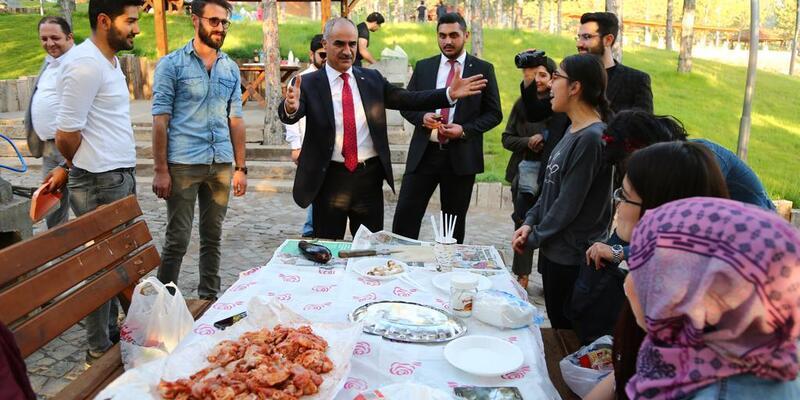 Başkan Aydın iftar sevincine ortak oldu