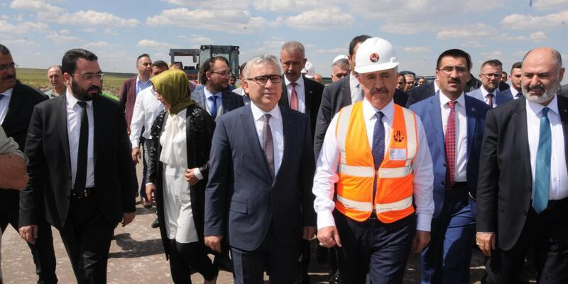Bakan Arslan'dan Niğde'ye havalimanı müjdesi