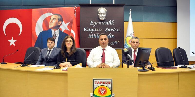Tarsus Belediye Meclisi toplandı