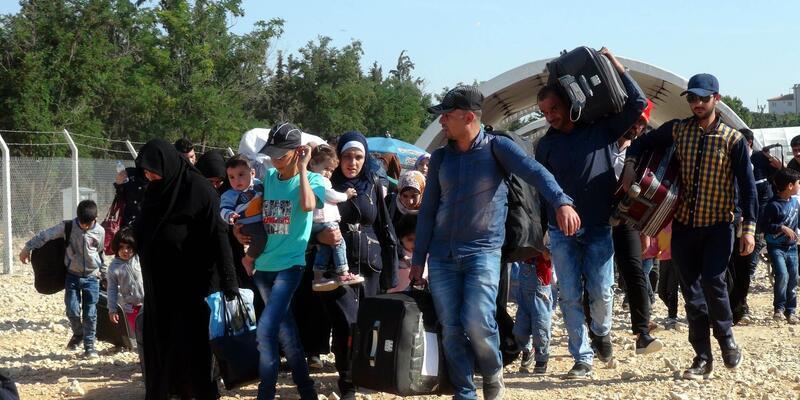 35 bin Suriyeli, bayram için ülkesine gitti