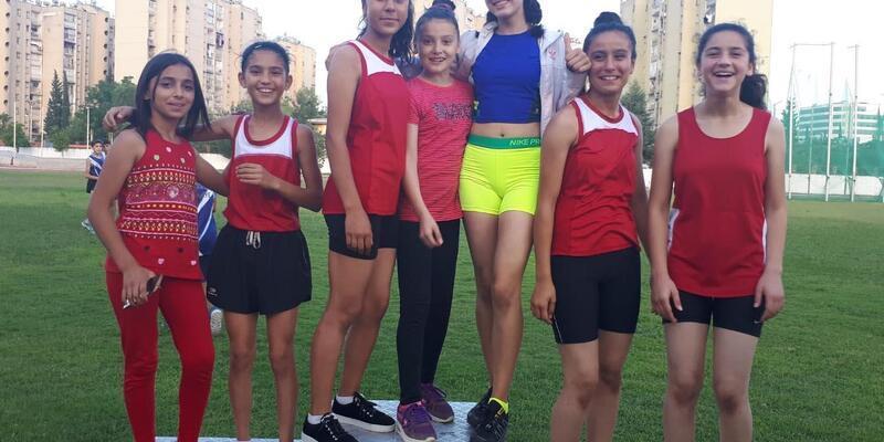 Osmaniyeli sporculardan atletizm derecesi