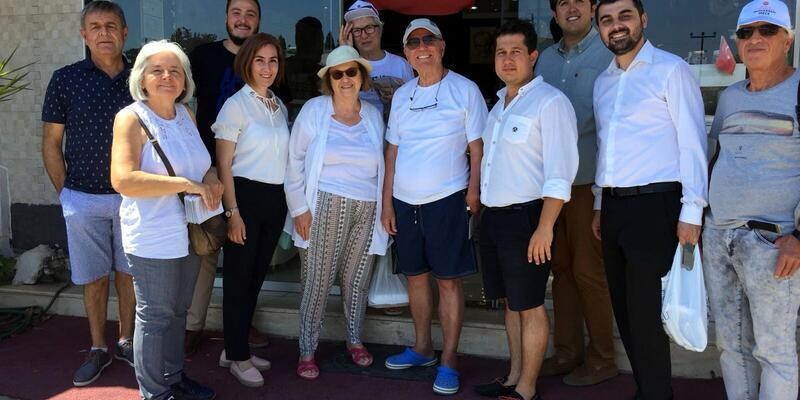 CHP'liler Bodrum'da 24 Haziran'daki seçimler için oy istedi