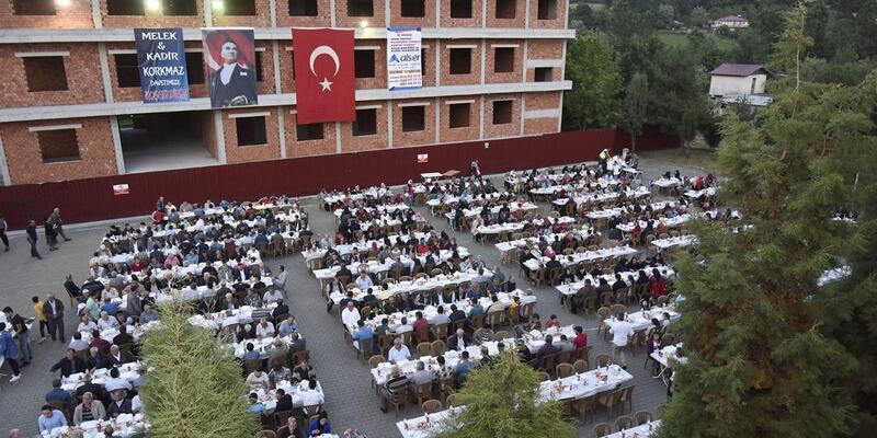 Tekkeköy'de birlik beraberlik iftarı