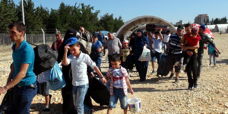38 bin Suriyeli, bayram için ülkesine gitti