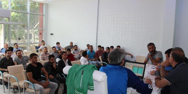 Seydişehir'de Başkanlık Kupası Futbol Turnuvası kuraları çekildi