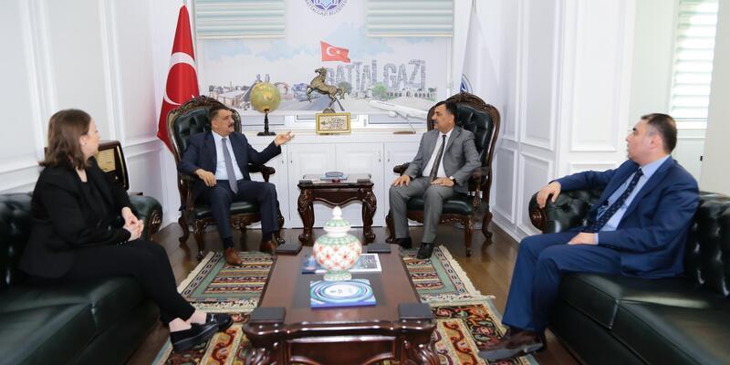 Çevre ve Şehircilik Müdürü'nden, Gürkan'a ziyaret