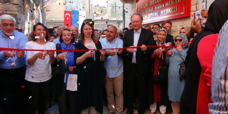 Kilis'te kadınlar için meslek zenginleştirme merkezi açıldı