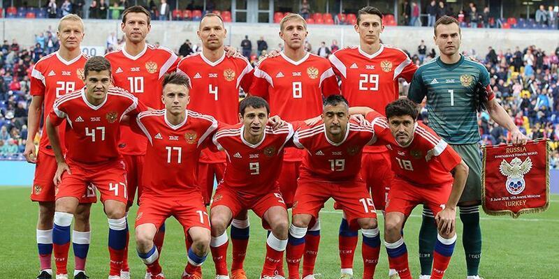 Rusya - 2018 FIFA Dünya Kupası'nda A Grubu