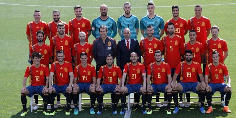 İspanya - 2018 FIFA Dünya Kupası'nda B Grubu