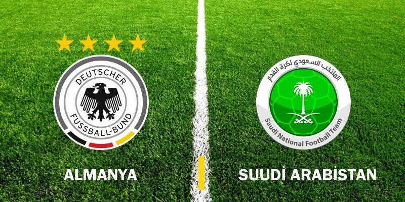 Canlı: Almanya-Suudi Arabistan maçı izle | Hazırlık maçı hangi kanalda, ne zaman?