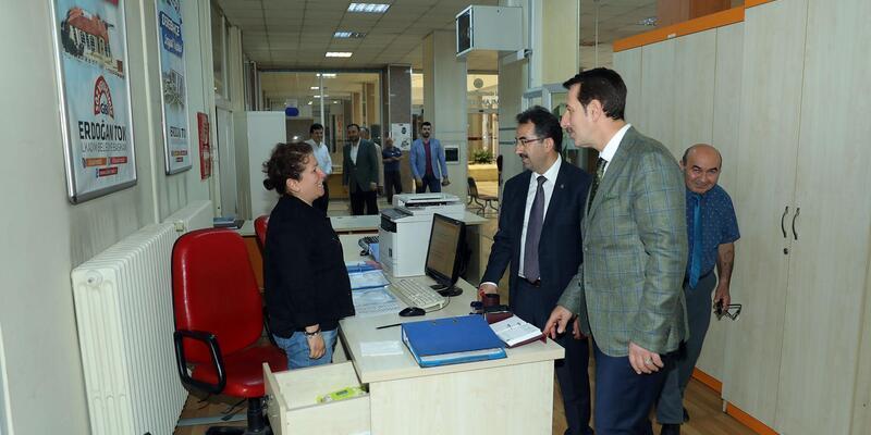 AK Parti Milletvekili Adayı Keleş'ten Başkan Tok'a ziyaret