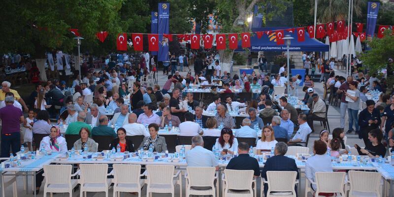 Sinop Belediyesi iftar programı düzenledi