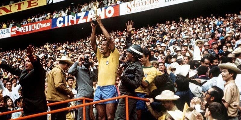 Meksika 1970 Dünya Kupası tarihi: Kupa ebediyen Brezilya'nın