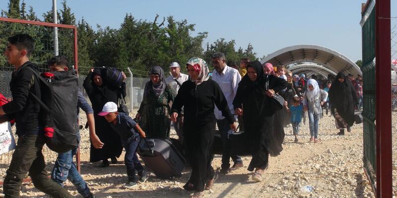 Bayram için ülkesine giden Suriyeli sayısı 40 bini aştı