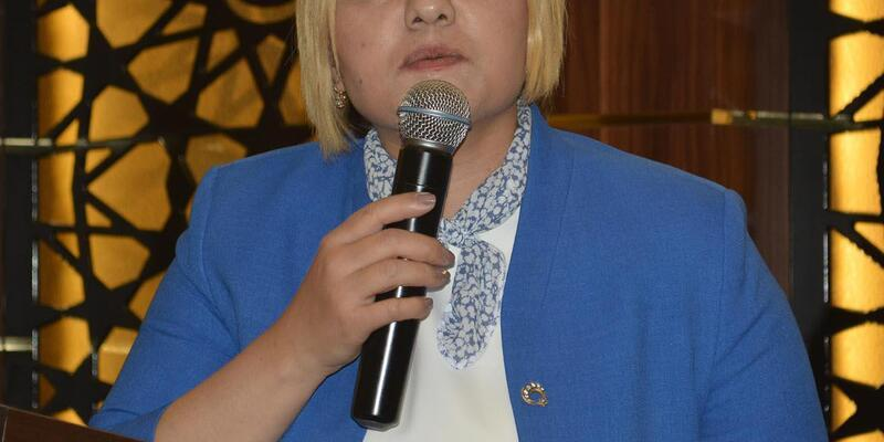 MHP Milletvekili adayı kentteki kadınlarla buluştu