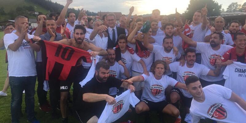 Türk takımı Bosporus İsviçre 2. Ligi'ne yükseldi