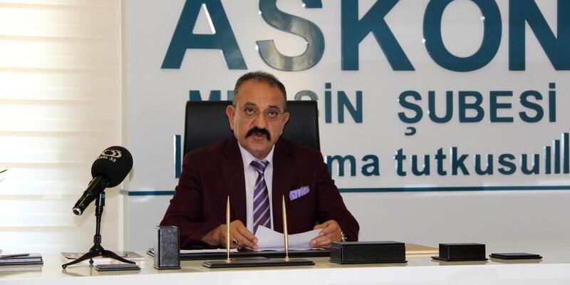 ASKON'da Başkan Hasan Arslan