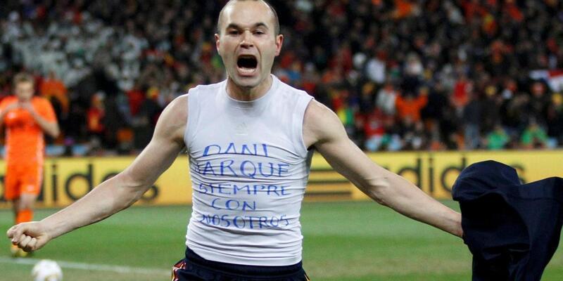 Güney Afrika 2010 Dünya Kupası tarihi: Iniesta'nın rüyası