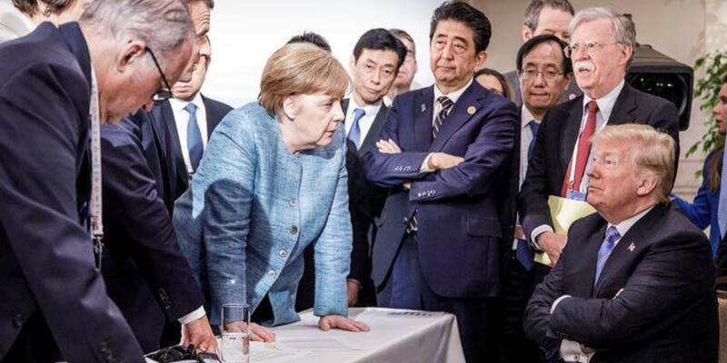 ABD G7'yi imzalamadı