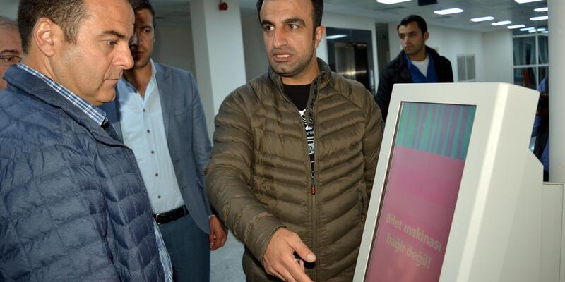 Erciş Devlet Hastanesi yeni binasına taşındı